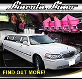 Stretched Lincoln Wedding Car